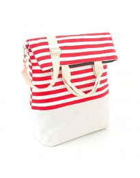 Плажна чанта на райе - код H - 9029 - 1