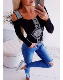 Блуза - код 981 - черно