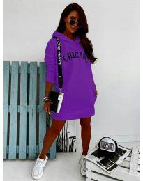 Спортна рокля в лилаво - код 802