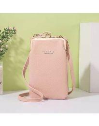 Дамска чанта в розово - код B145