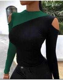 Ефектна дамска блуза - код 0042 - 3