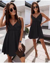 Елегантна рокля в черно - код 1000
