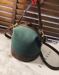 Дамска чанта в масленозелено - код B308
