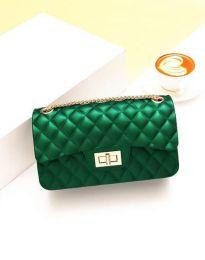 Дамска чанта в зелено - код B341