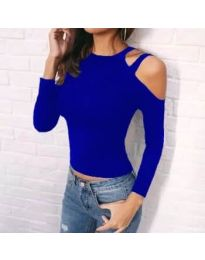 Дамска блуза в синьо - код 952