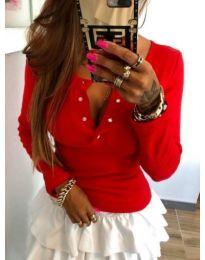 Блуза - код 082 - червено