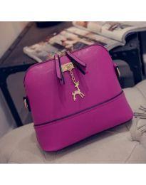 Дамска чанта в лилаво - код B132