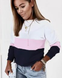 Ефектна дамска блуза - код 9966 - 4
