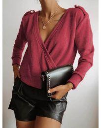 Дамска блуза в бордо - код 294