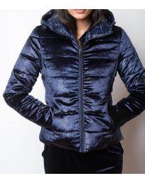 Дамско късо яке в синьо - код 9970