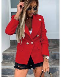 Сако с копчета в червено - код 2911