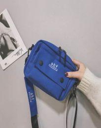 Дамска чанта в синьо - код B524