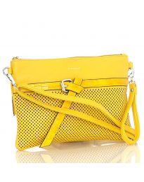 Дамска чанта в жълто - код LS 589