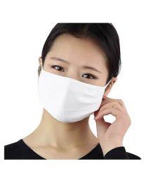 Предпазна трипластова маска - код 012 - бяла