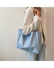 Дамска чанта в цвят светлосиньо - код B571