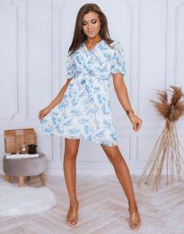 Дамска рокля с флорален десен - код 4082 - 6