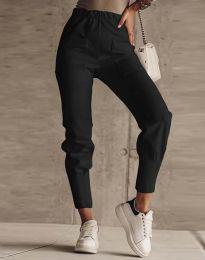 Дамски панталон в черно - код 2252