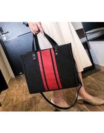 Дамска чанта в черно - код B103 - 1