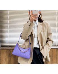 Дамска чанта в лилаво - код B162