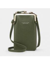Дамска чанта в зелено - код B145