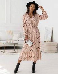 Дамска рокля с цепка - код 0836 - 1