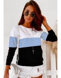 Ефектна дамска блуза - код 9966 - 3