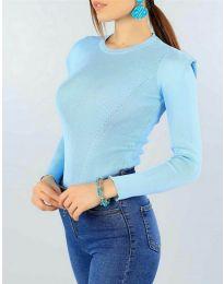 Дамска блуза в светло синьо - код 374