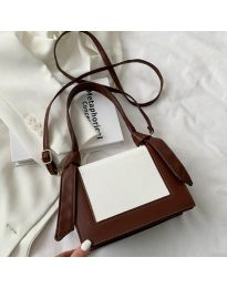Дамска чанта в тъмнокафяво - код B574