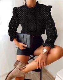 Дамска блуза в черно - код 5455