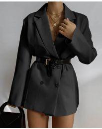 Дамско сако в черно - код 6919