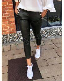 Дамски втален панталон в черно - код 160