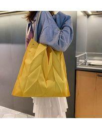 Атрактивна дамска чанта в жълто - код B522