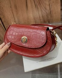 Дамска чанта в цвят бордо - код B423