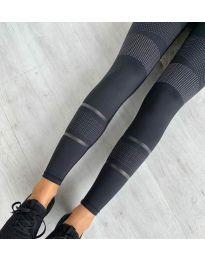 Дамски спортен клин в черно - код 22099