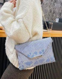 Дамска чанта с ефектен десен - код B351 - 1