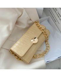 Дамска чанта в жълто - код B47