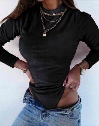 Дамско боди в черно - код 8478