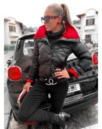 Дамско късо яке в черно - код 102