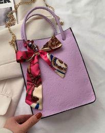 Дамска чанта в лилаво - код B460