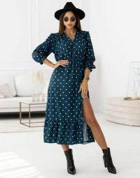 Дамска рокля  с цепка - код 0836 - 2