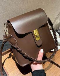 Дамска чанта в тъмнокафяво - код B328
