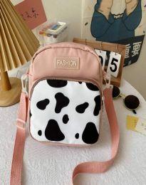 Атрактивна дамска чанта в розово - код B578
