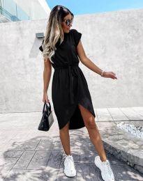 Дамска рокля в черно - код 2074