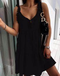 Дамска рокля в черно - код 2540