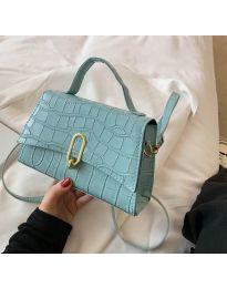 Елегантна дамска чанта в цвят мента - код B529