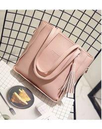 Дамска чанта в розово - код B7