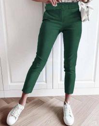 Дамски панталон в зелено - код 5043