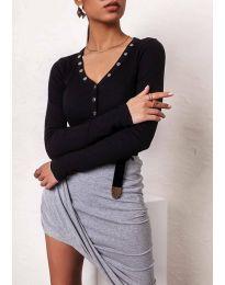 Дамска блуза в черно - код 11564