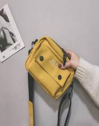 Дамска чанта в жълто - код B524