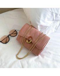 Дамска чанта в розово - код B29/7751